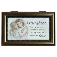 Carson Home Accents Music Box - Daughter You Are An Angel Sent From Above