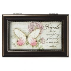 Carson Music Box - Friends Remind Us What Really Matters