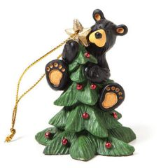 Demdaco Bearfoots Tree Topper Ornament