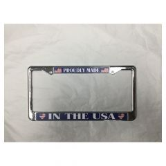 Proudly USA-License Plate Frame