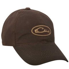 Drake 8 Ounce Waxed Canvas Cap Brown One Size