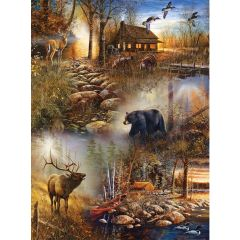 SunsOut Forest Collage Puzzle