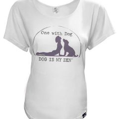 Dog is Good Women's One With Dog T-Shirt