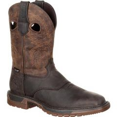 Rocky Men's Original Ride FLX Waterproof Western Boot Wide