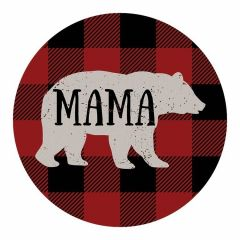 Carson Home Accents Mama Bear Car Coaster