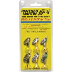 Panther Martin Deadly Trout - 6 Pack