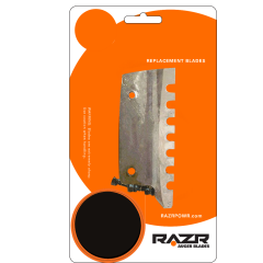 RAZR Power Auger Replacement Chipper Blades