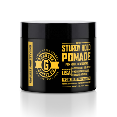 Gunners Supply Co Sturdy Hold Hair Pomade 4 oz.