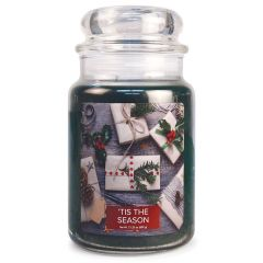 Village Candle Large Jar Scented Candle - 'Tis the Season