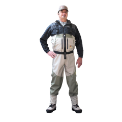 Caddis Zippered Deluxe Plus Breathable Stockingfoot Wader