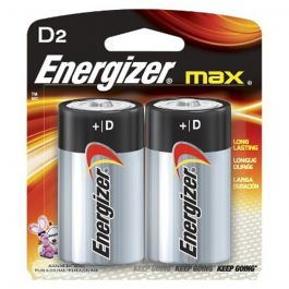 Eveready Batteries-D 2-pak