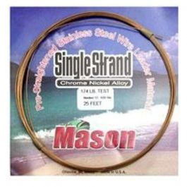 Mason Tackle SingleStrand Wire-.020/25'