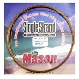 Mason Tackle SingleStrand Wire-86#/25'