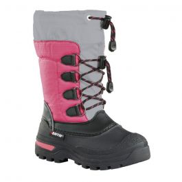 Baffin Junior Pinetree Boot Charcoal/Fushsia 6