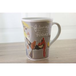 Ollee Bee Color Changing Porcelain Story Mug - Future