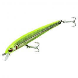 Bomber Long Shot Saltwater Minnow Chartreuse Herring