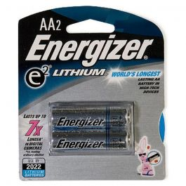 Eveready Lith Battery-AA 2-pk