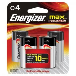 Eveready Batteries-C 4-pak