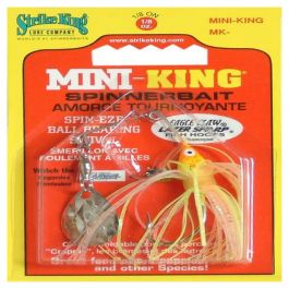 Strike King Mini-King Spiinnerbait MK-112G Sun Perch
