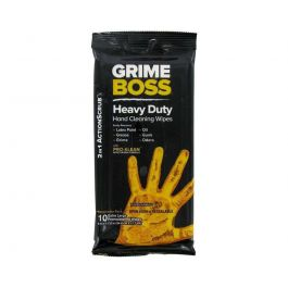 Csi Grime Boss Hand Wipes 10Ct.