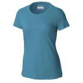Columbia Women's Solar Shield SS Shirt 2X Modern Turquoise