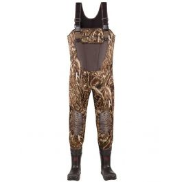 LaCrosse Wetlands Insulated Chest Wader Realtree Max-5 Sz 9