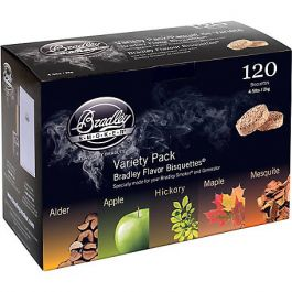 BRADLEY Bisquettes Variety Pack 120 Pk