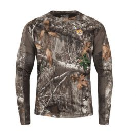 Scent Lok Baselayers Amp Lightweight Top Realtree Edge Medium