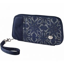 Haiku Fortitude Wrist Wallet OS Midnight Geo Print