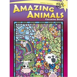 Dover Publications Amzing Animals Coloring Book