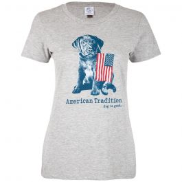 Dog is Good Women's American Tradition T-Shirt