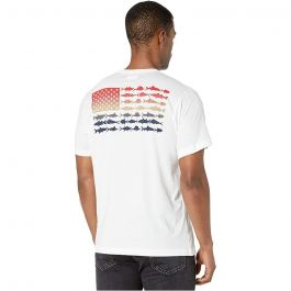 Columbia Men's PFG Fish Flag Pocket T-Shirt