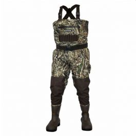 Compass 360 Deadfall Breathable Camo Bootfoot Chest Waders