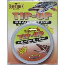 K&E Tackle Braided Tip Up Line Green