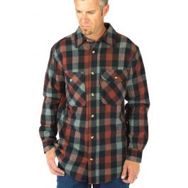 Five Brother Tall Heirloom Front Button Down Flannel