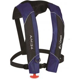 Absolute Onyx A/M-24 Automatic/Manual Inflatable Adult Life Jacket