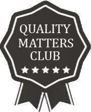 Quality Matters Club Badge